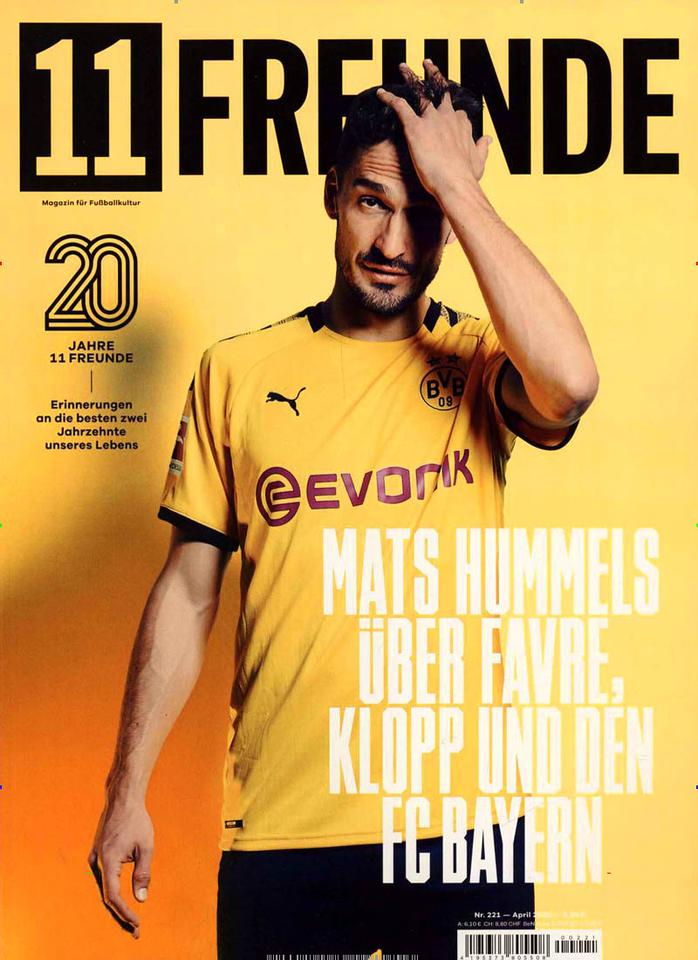 11 Freunde Monthly Sports Magazine