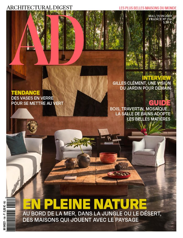 AD ARCHITECTURAL DIGEST magazine