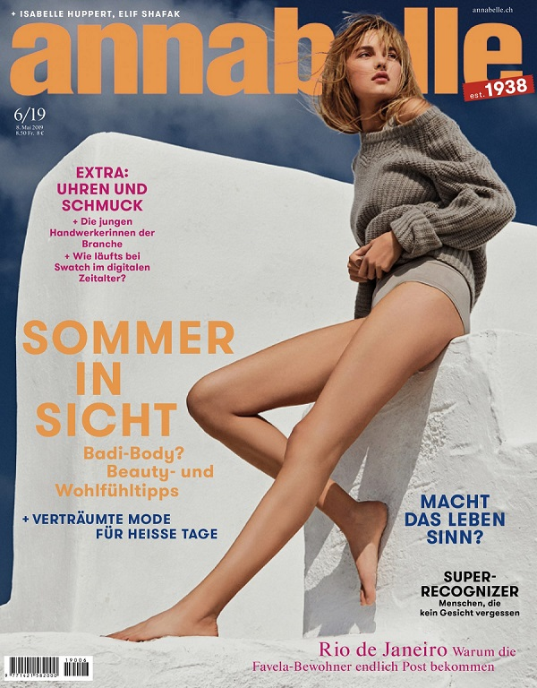 Annabelle - best Swiss women Magazine