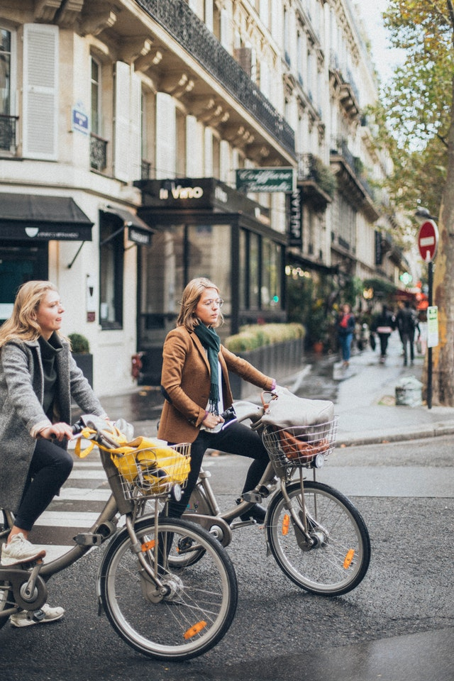 Bicycle shopping