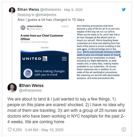 Ethan Weiss Tweet