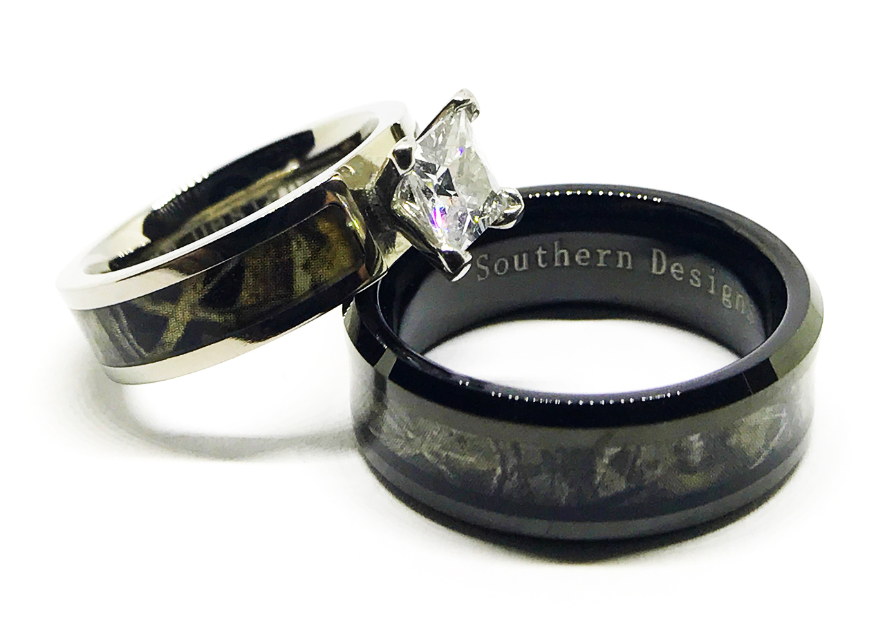 It S All About The Camo Wedding Rings Best Shopping Guide