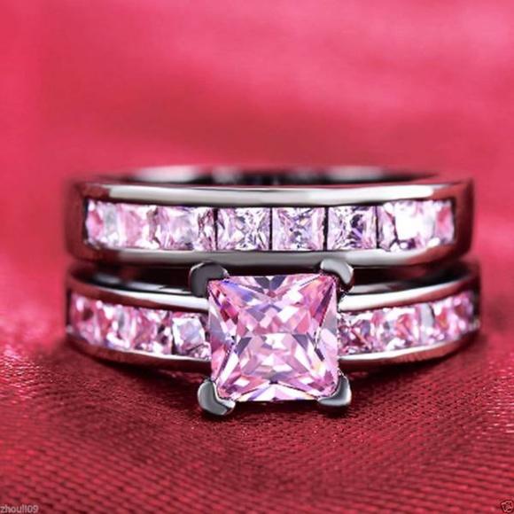 Camouflage Diamond Engagement Ring