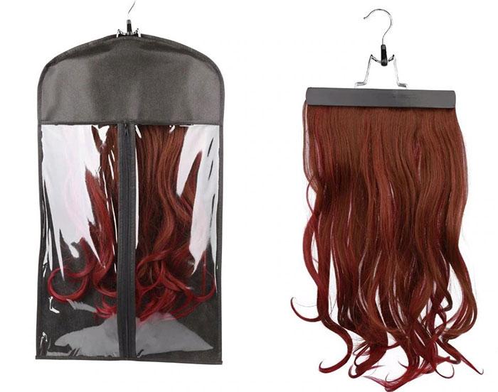 hair extension carrier