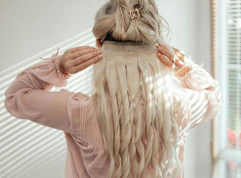 Layered Look by Clipping the Extensions Diagonally