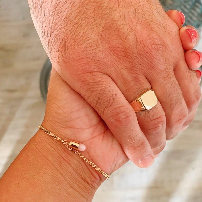 For a Grandmother's Birthstone Bracelet