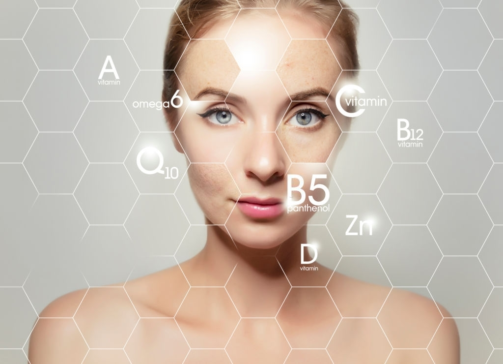 Vitamins and Nutrients for skin