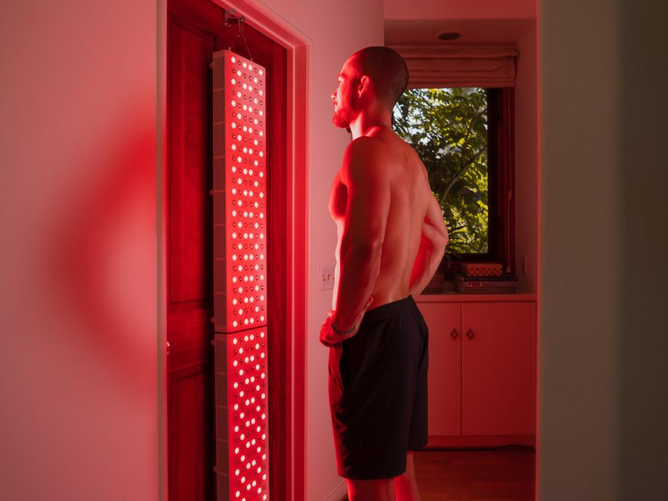 red light therapy at home