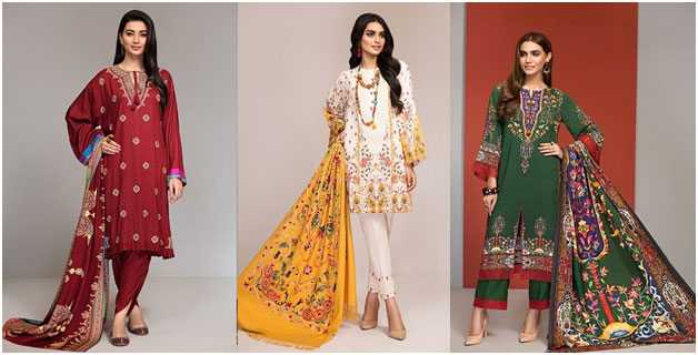 Nishat Winter Collection Style