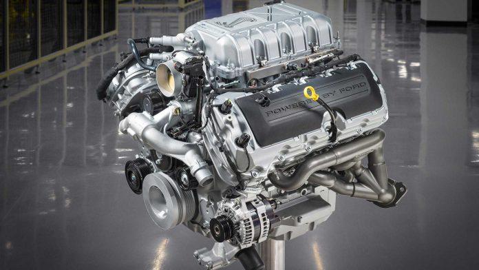 Ford Mustang Predator V8 Engine