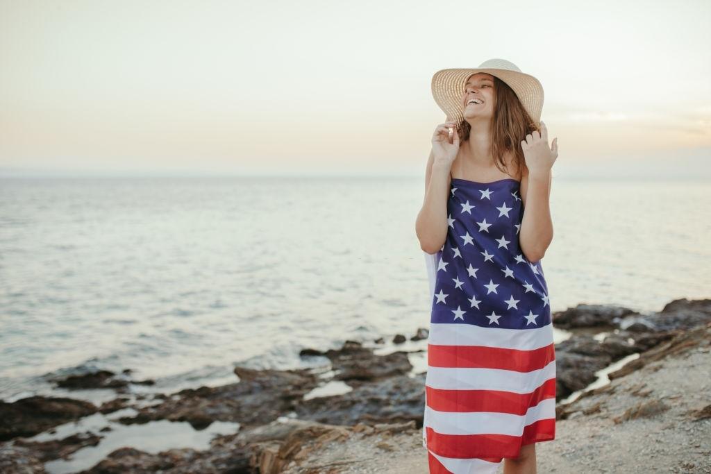 usa flag clothing