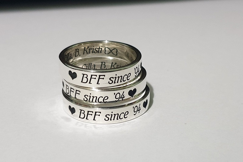 Friendship Men's Ring Designs
