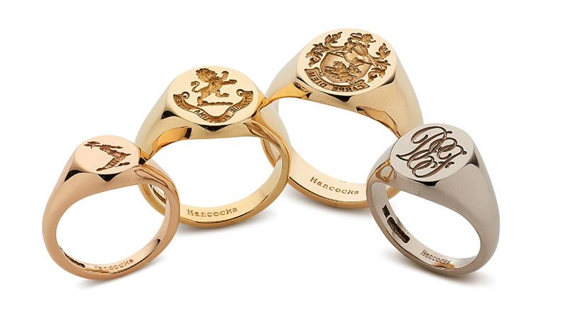 Traditional Signet Rings for Men