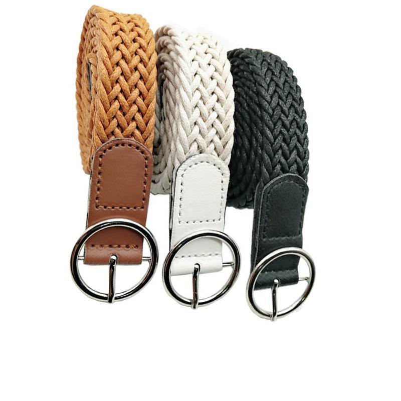 Waved Women's Belt in Leather