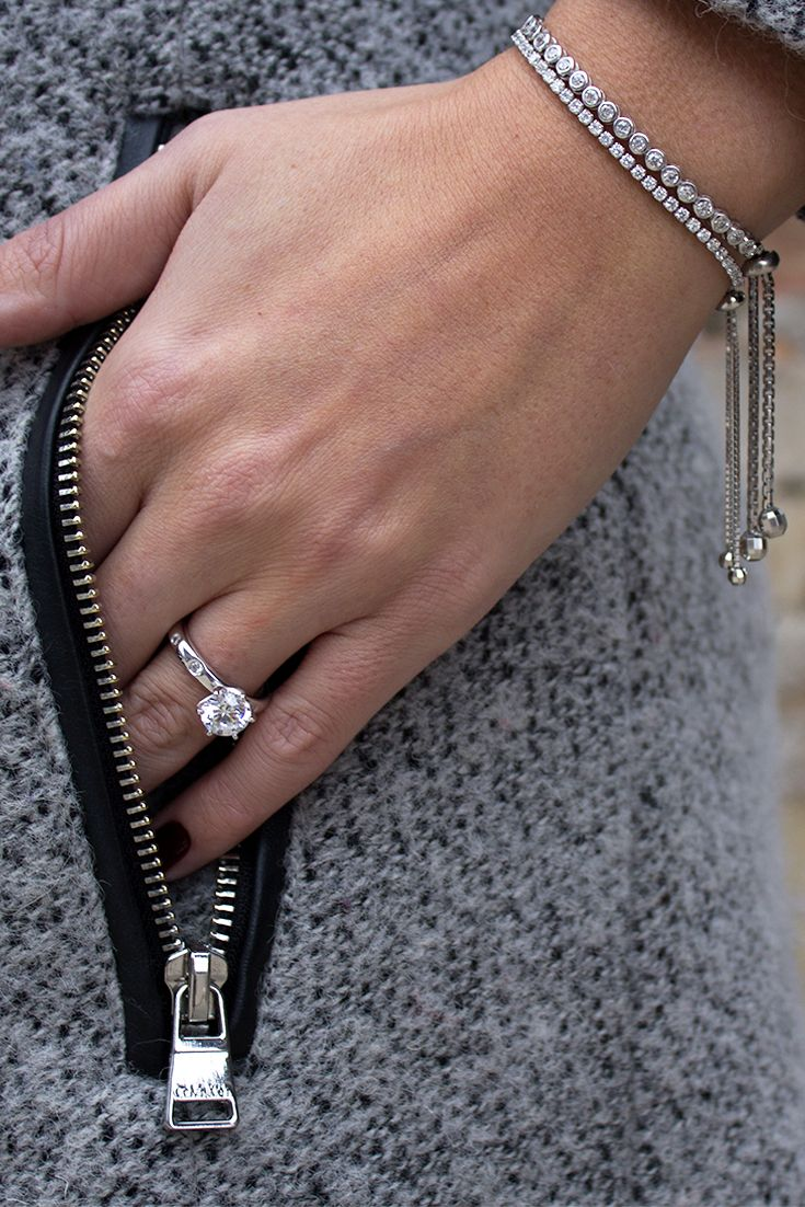 Diamond Rings with tennis bracelet