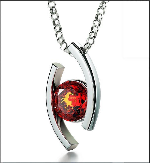 Capricorn Sign Necklace